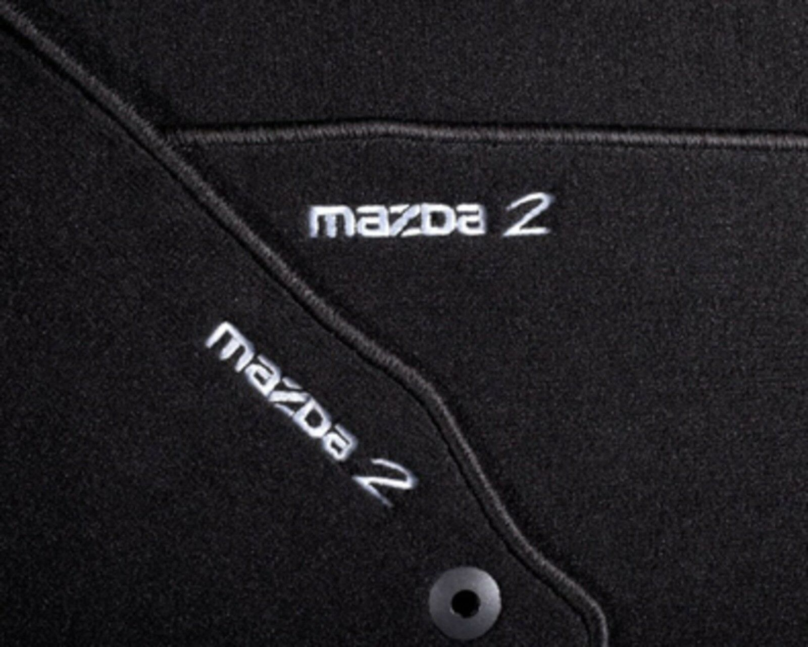 Gummi-Fußmatten Mazda CX-9 2007-2015 4tlg Gummimatten