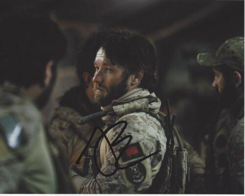 ACTOR JOEL EDGERTON SIGNED ZERO DARK THIRTY 8x10 PHOTO W/COA BOY ERASED WARRIOR