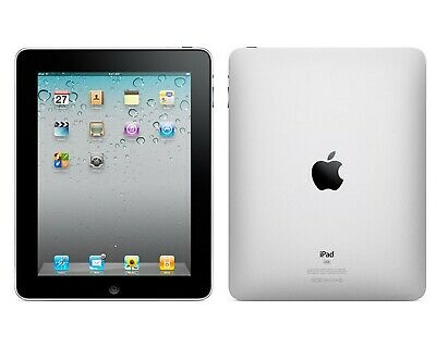 Apple iPad 1st Generation 16GB, 32GB, 64GB Black Wi-Fi Only 9.7-inch - Open Box