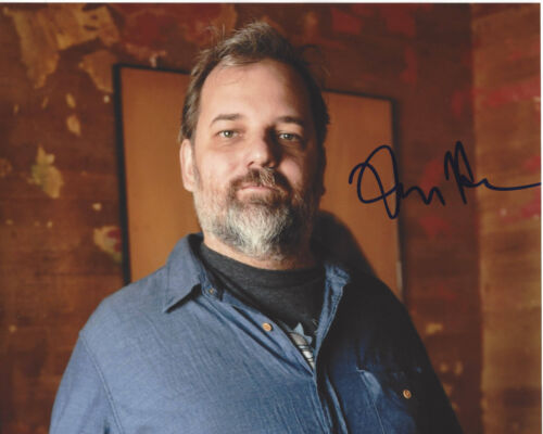 DAN HARMON - RICK AND MORTY & COMMUNITY CREATOR SIGNED 8X10 PHOTO B w/COA PROOF