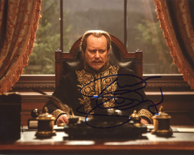 "Stellan Skarsgard ""Cinderella"" AUTOGRAPH Signed 'Grand Duke' 8x10 Photo ACOA"