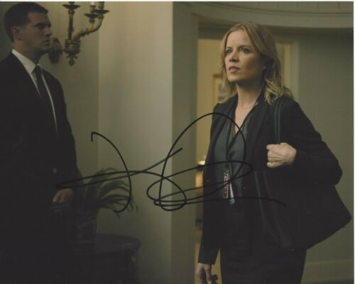 KIM DICKENS SIGNED GONE GIRL 8x10 MOVIE PHOTO A COA FEAR THE WALKING DEAD SERIES