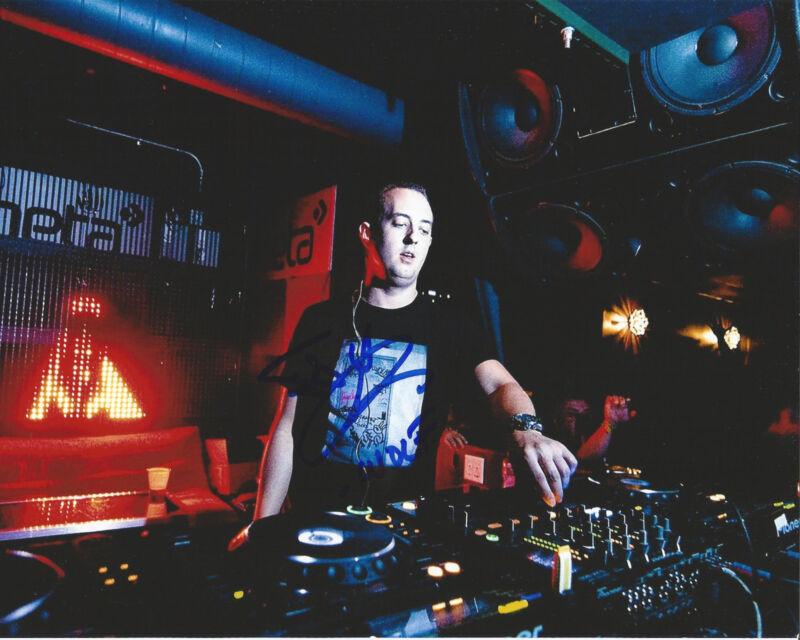 HOUSE MUSIC DJ WOLFGANG GARTNER SIGNED 8X10 PHOTO W/COA JOSEPH YOUNGMAN C