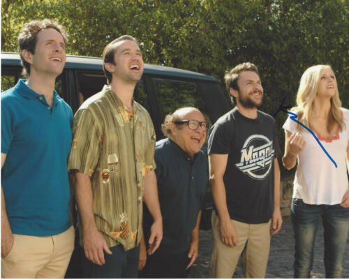 KAITLIN OLSON SIGNED IT'S ALWAYS SUNNY IN PHILADELPHIA 8x10 PHOTO w/COA ACTRESS