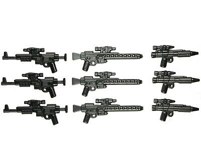 LEGO Star Wars Guns Lot of 9 Blaster - Star Wars Rebels Stormtrooper Blaster