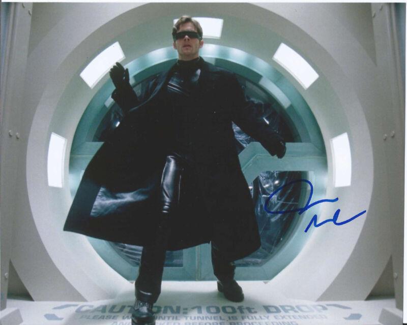 ACTOR JAMES MARSDEN HAND SIGNED AUTHENTIC 'X-MEN' CYCLOPS 8X10 PHOTO w/COA