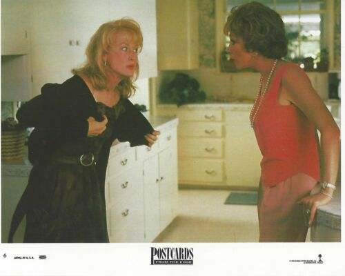 Post Cards From The Edge Original 8x10 Lobby Card Poster 1990 Photo #6 Meryl