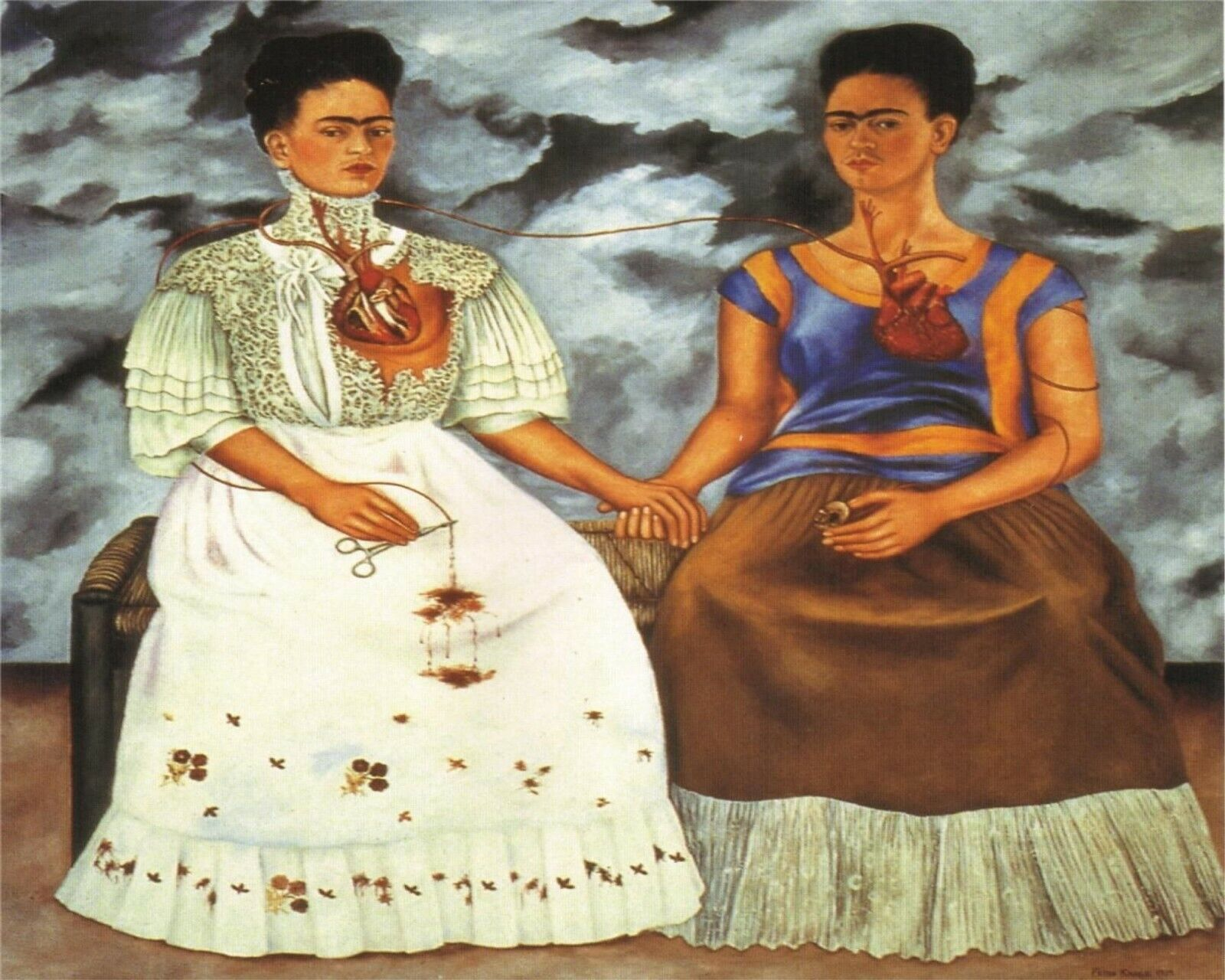 Self Portrait by Frida Kahlo 19 Van-Go Paint-By-Number Kit