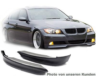 für BMW e90 e91 frontspoiler limousine touring lippe spoiler 2005-2008 hecklippe