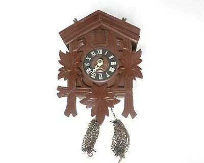 Vintage Authentic German cuckoo clock MFG Germany - not working/Incomplete