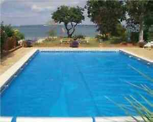 20ft X 40ft Blue 400 Micron Swimming Pool Solar Cover Ebay