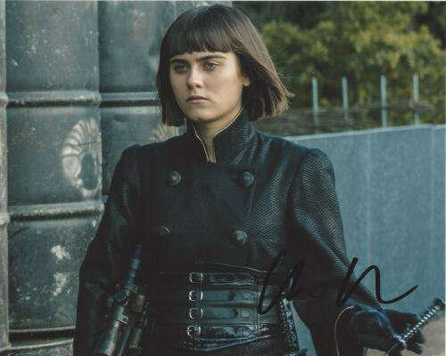 ACTRESS ALLY IOANNIDES SIGNED 8x10 PHOTO D w/COA INTO THE BADLANDS PARENTHOOD