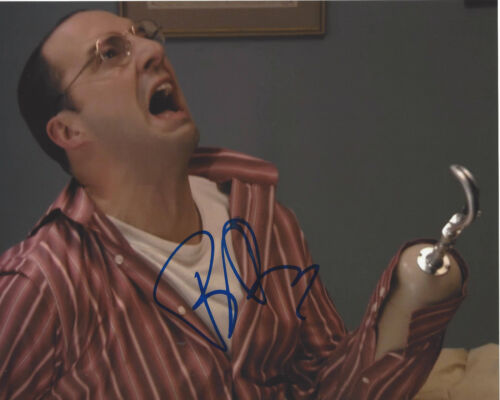 TONY HALE SIGNED 'ARRESTED DEVELOPMENT' BUSTER BLUTH 8X10 PHOTO TV ACTOR w/COA