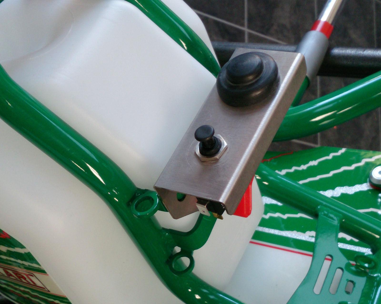TonyKart Halterung Top-Qualität Edelstahl Kart Rotax Max Schalter Platte