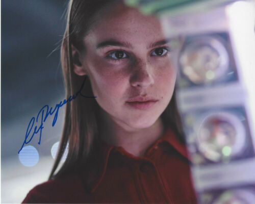 CLARA RUGAARD SIGNED AUTHENTIC 'I AM MOTHER' 8X10 PHOTO B w/COA ACTRESS PROOF
