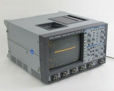 Lecroy 9354am 4-channel Digital Oscilloscope Sngle 2 Gss Quad 500 Mss W Acc