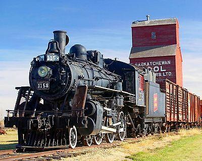 Steam Train 8 x 10 GLOSSY Photo Picture IMAGE #13