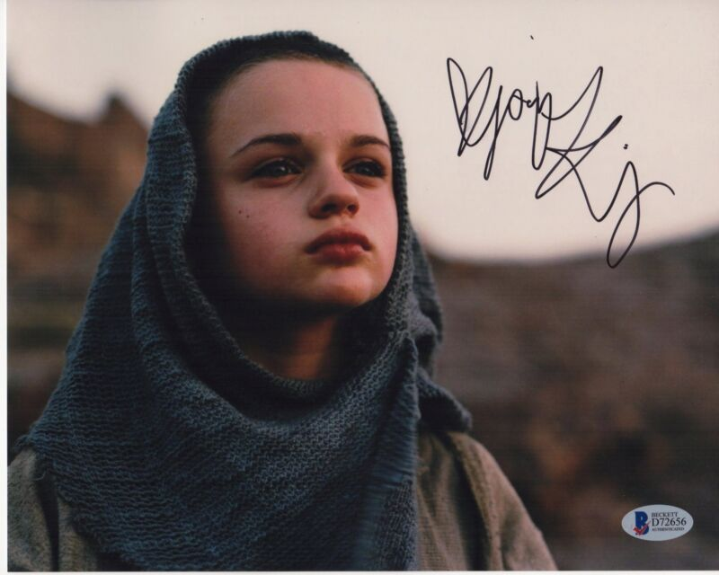 JOEY KING SIGNED THE DARK KNIGHT RISES PHOTO 8X10 AUTOGRAPH BAS PSA
