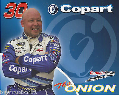 Todd Bodine 2009 Copart Camping World Postcard  Onion