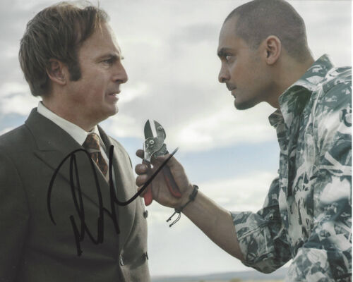 MICHAEL MANDO SIGNED AUTHENTIC 'BETTER CALL SAUL' NACHO 8X10 PHOTO C w/COA ACTOR