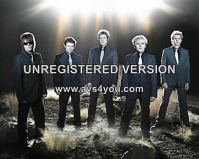 "Duran Duran 10"" x 8"" Photograph no 66"