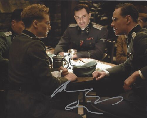 ACTOR ALEXANDER FEHLING SIGNED INGLOURIOUS BASTERDS 8x10 PHOTO A W/COA HOMELAND
