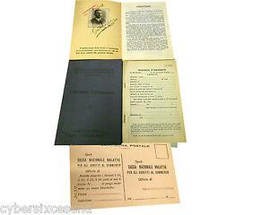 LIBRETTO-personale-CASSA-NAZIONALE-MALATTIE-commercio-1933