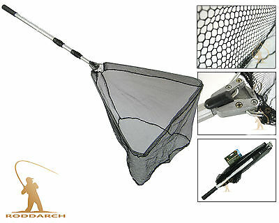 FLY CARP COARSE SEA GAME FISHING FOLDING EXTENDING LANDING NET