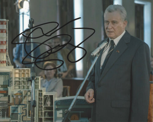 STELLAN SKARSGARD SIGNED AUTHENTIC 'CHERNOBYL' 8x10 PHOTO w/COA HBO SHOW ACTOR