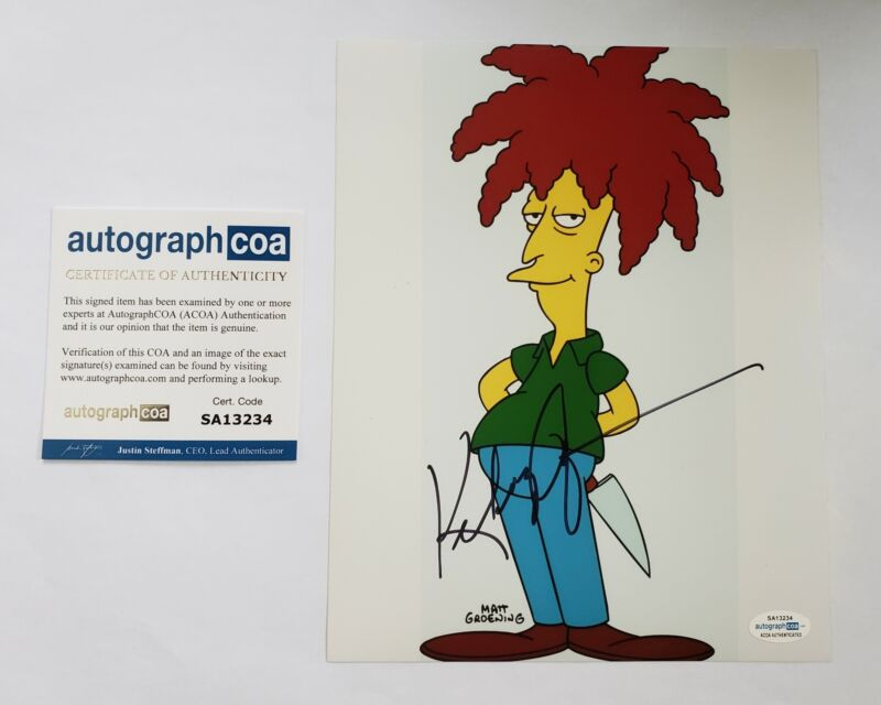 Kelsey Grammer Autographed Signed 8x10 Photo Sideshow Bob The Simpsons ACOA