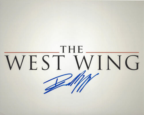 BRADLEY WHITFORD SIGNED 'THE WEST WING' CAST 8x10 PHOTO w/COA ACTOR JOSH LYMAN