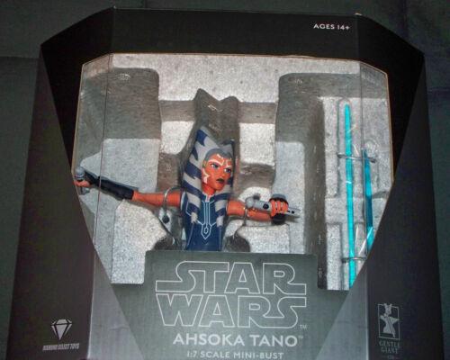 Gentle Giant Star Wars Clone Wars Ahsoka Tano 1/7 Mini Bust