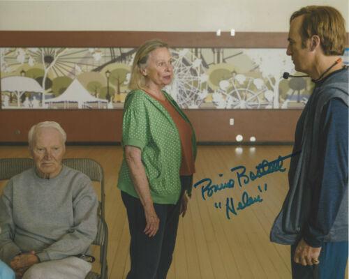 BONNIE BARTLETT SIGNED 'BETTER CALL SAUL' 8x10 PHOTO B w/COA SHOW ACTRESS PROOF