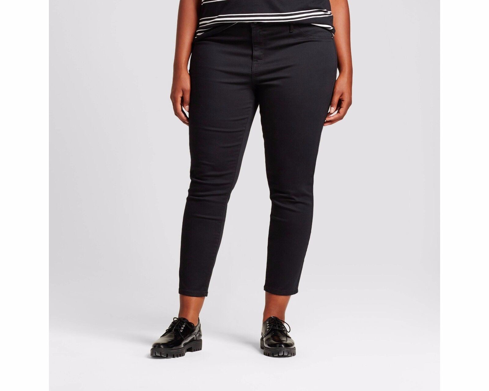 e497e5a39d650 NWT Women s Plus Size Denim Jeggings - Ava   Viv Black size 26W ...