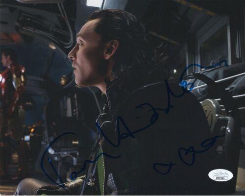 Tom Hiddleston Loki Autographed Signed 8x10 Photo JSA COA