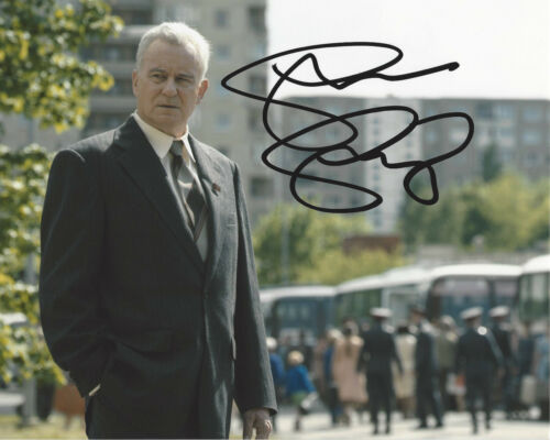 STELLAN SKARSGARD SIGNED AUTHENTIC 'CHERNOBYL' 8x10 PHOTO B w/COA HBO SHOW ACTOR