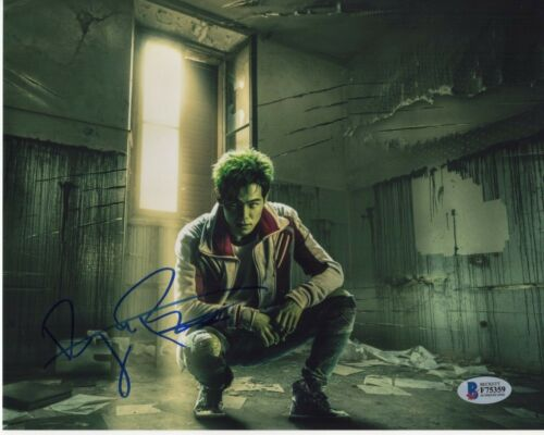 RYAN POTTER SIGNED TITANS PHOTO 8X10 BEAST BOY AUTOGRAPH! BAS COA PSA