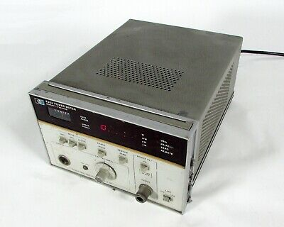 Hp Agilent Keysight 436a Power Meter 100 Khz To 110 Ghz