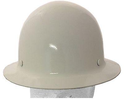Msa Skullgard Fiberglass Fb Hard Hat With Ratchet Or Pin Lock Susp White
