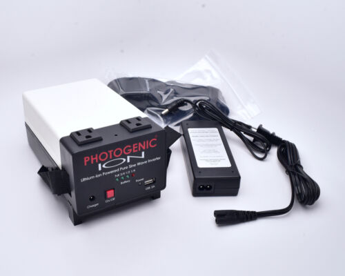 Photogenic ION Lithium-Ion Powered Pure Wave Sine Inverter Battery Pack (#7923)
