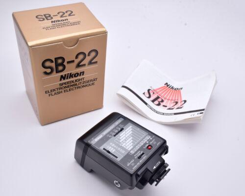 Nikon Speedlight SB-22 Flash (#7768)