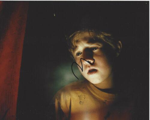 HALEY JOEL OSMENT SIGNED AUTHENTIC 'THE SIXTH SENSE' 8X10 PHOTO COA A.I. ACTOR