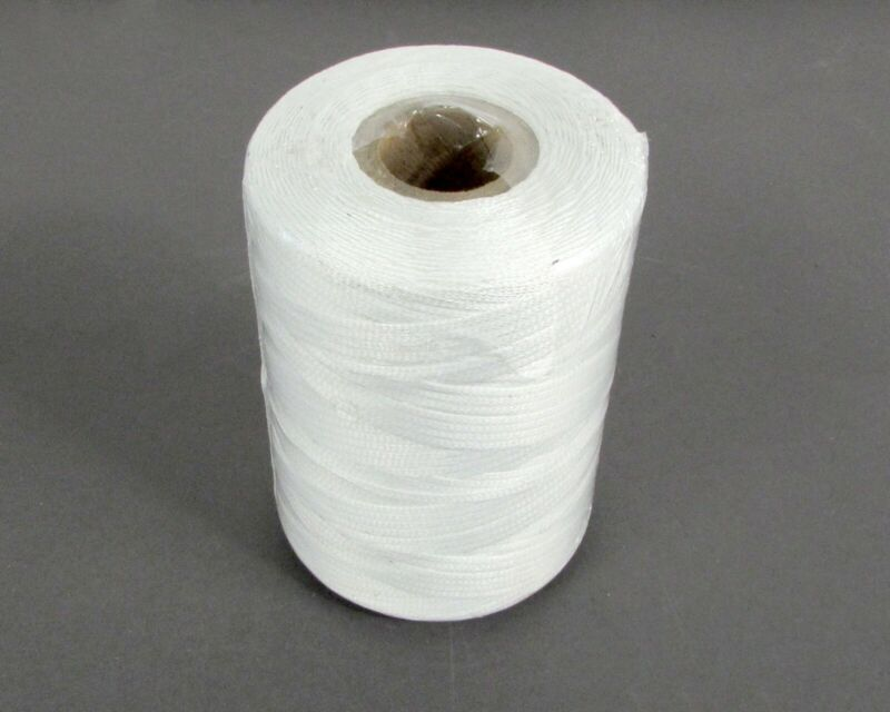 Spool of 500 Yd Natural Nylon Finish Tape, Lacing & Tying Cord MIL-T-43435