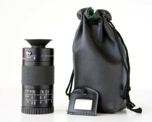 Computar Focal Length Finder for CCTV Lenses, Pouch