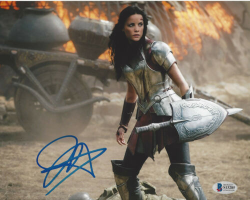 JAIMIE ALEXANDER SEXY ACTRESS SIGNED 8X10 PHOTO 2 THOR BLINDSPOT BECKETT COA BAS