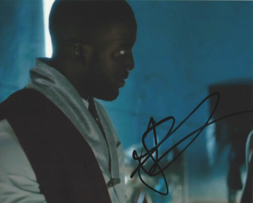SHAMIER ANDERSON SIGNED AUTHENTIC 'WYONNA EARP' 8x10 PHOTO F w/COA ACTOR GOLIATH