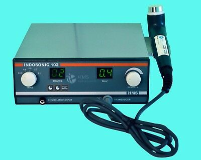 New Portable Ultrasound Therapy 1 Mhz Indosonic 102 Underwater Ce Deep Heat Unit