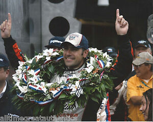 INDY-DRIVER-DARIO-FRANCHITTI-SIGNED-8X10-PHOTO-INDIANAPOLIS-500-CHAMPION-w-COA