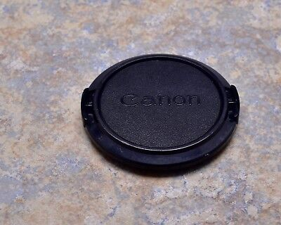 Retro Genuine Canon FD C 52mm Snap-On Front Lens Cap 50mm 1.8 (#1257)