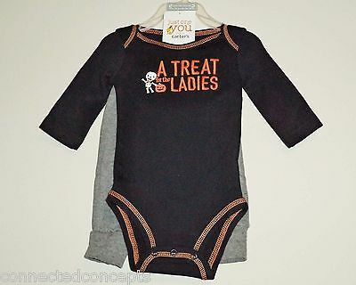 Halloween Carters A Treat for the Ladies Infant Boys Outfit (SIZE 3 Months) NEW! - Halloween Outfits For Babies